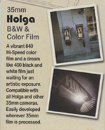 Holga 640 Hi-Speed Color Film